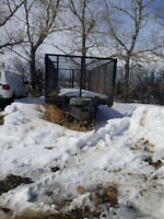 2011 20ft Heavy Duty T/A Cage Trailer w/ Ramps. Winnipeg Manitoba Preview