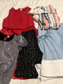 Girls bundle (5 items) Age 9, River Island, Next, TU
