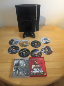 Sony Playstation 3 (PS3) + games