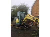 2006 yanmar 3 ton digger mini excavator