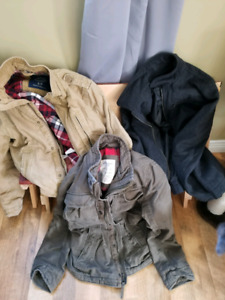 Mens winter and fall jackets