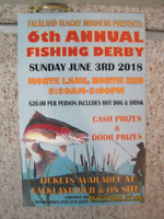 The Falkland Sunday Morners Fishing Derby