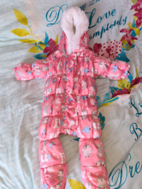 Up to 1 month Snowsuit