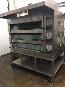 Mono Electric 3 Deck Oven with Steam
