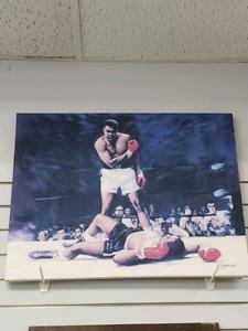 Muhammad Ali custom painting