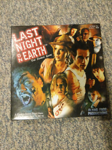 Last night on earth zombie board game and expansion