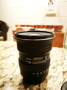 TokinaAT-X 116 PRO DX-II 11-16mm f/2.8 Lens for Canon EF