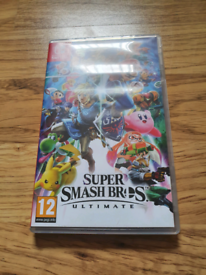 Super smash bros ultimate Nintendo switch game