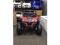 ATV Quad Bike 24v Brand New 2 Seater, Black & Red