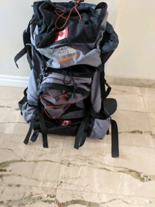North face backpacking terra backpack 65L + 15L