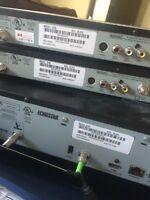1 HD PVR and 2 reg Bell receivers