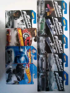 Hot Wheels 1/64 Cars (7 available, please contact)