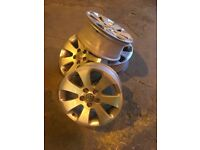 Genuine Vauxhall insignia alloys