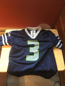 Seahawks football jersey