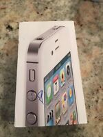 iPhone 4s white 16 gig fido