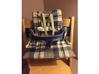 Stokke Tripp Trapp baby set, harness and cushions