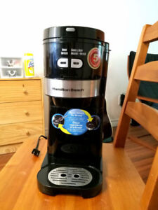 Hamilton-Beach Grind and Brew Coffee Maker