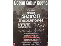 Ocean Colour Scene tickets x 2