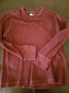 New washed no tags Tommy Hilfiger Mens sweater