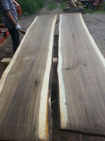 Kiln Dried Live Edge Wood Slabs Toronto, Live Edge Lumber