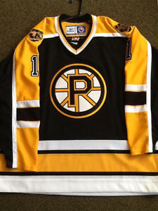 Andrew Raycroft Providence Bruins autographed jersey AHL goalie