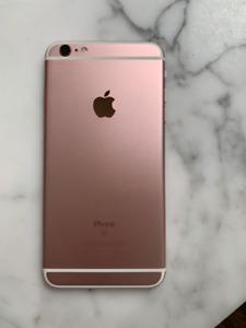 Iphone 6S Plus Rosegold 64 G unlocked