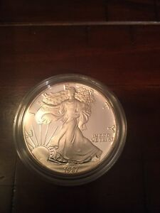 1987 American Eagle Silver coin 1oz Proof