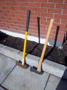 Splitting axe