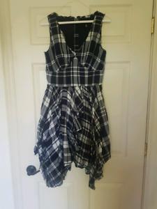 Miss Sixty Plaid Dress (6)