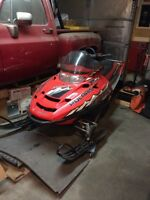 2005 Polaris RMK trail snowmobile