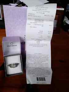Sterling silver diamond ring  Cambridge Kitchener Area image 1