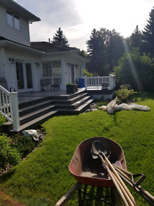Lawn maintenance and general yard care