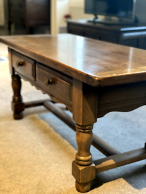 Solid Oak Small Table