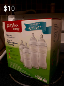 Playtex/born free bottles/good start formula