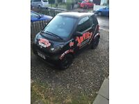 Smart Fortwo passion 2009 1 year mot Automatic