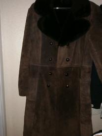 Genuine Vintage Suede Coat Reduced