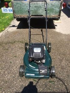 "Craftsmen 22"" self propelled lawn mower"