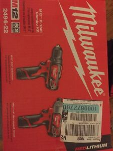 BRAND NEW MILWAUKEE COMBO KIT