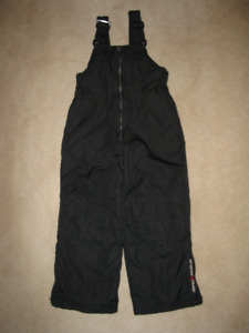 Zero Exposur Kids Black Snow Pants