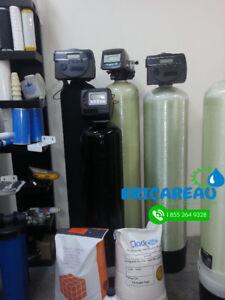 Systèmes de filtration d'eau   Adoucisseurs d'eau