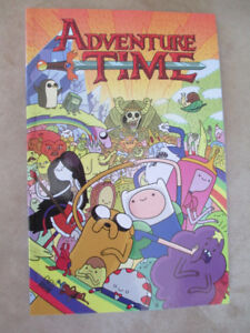 Adventure Time graphic novels!