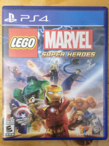 LEGO Marvel Superheroes for PS4