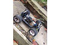 Nitro RC 1/10 scale car