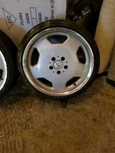 18x8 Genuine Mercedes Rims