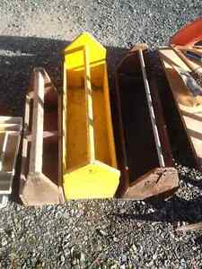 Vintage Wooden Open Tool Boxes Prince George British Columbia image 2