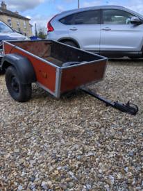 Small trailer.