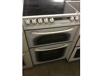 Creda white Electric Cooker With Ceramic Top
