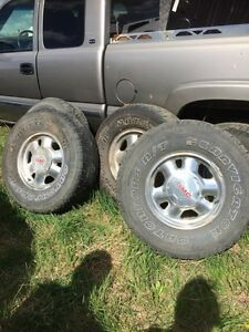 4GMC1500 and Tires Catchfors A/T Lanvigator 265/75/16