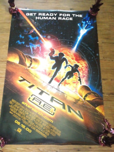 """Titans A.E. (2000) (Double Sided) 27""""x40"""" Movie Poster"""
