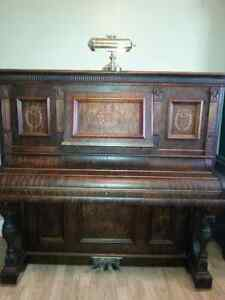 Antique Heintzman Piano